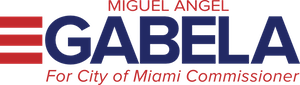 Miguel Gabela for City of Miami Commissioner Logo